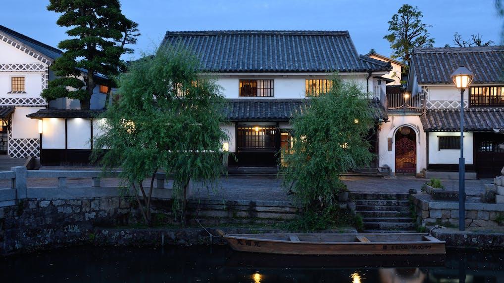 岡山・倉敷美観地区で江戸時代の面影を残す1日8組の料理旅館