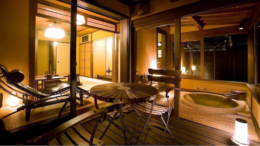 露天風呂付客室で部屋食が楽しめる宿 湯布院・別府編
