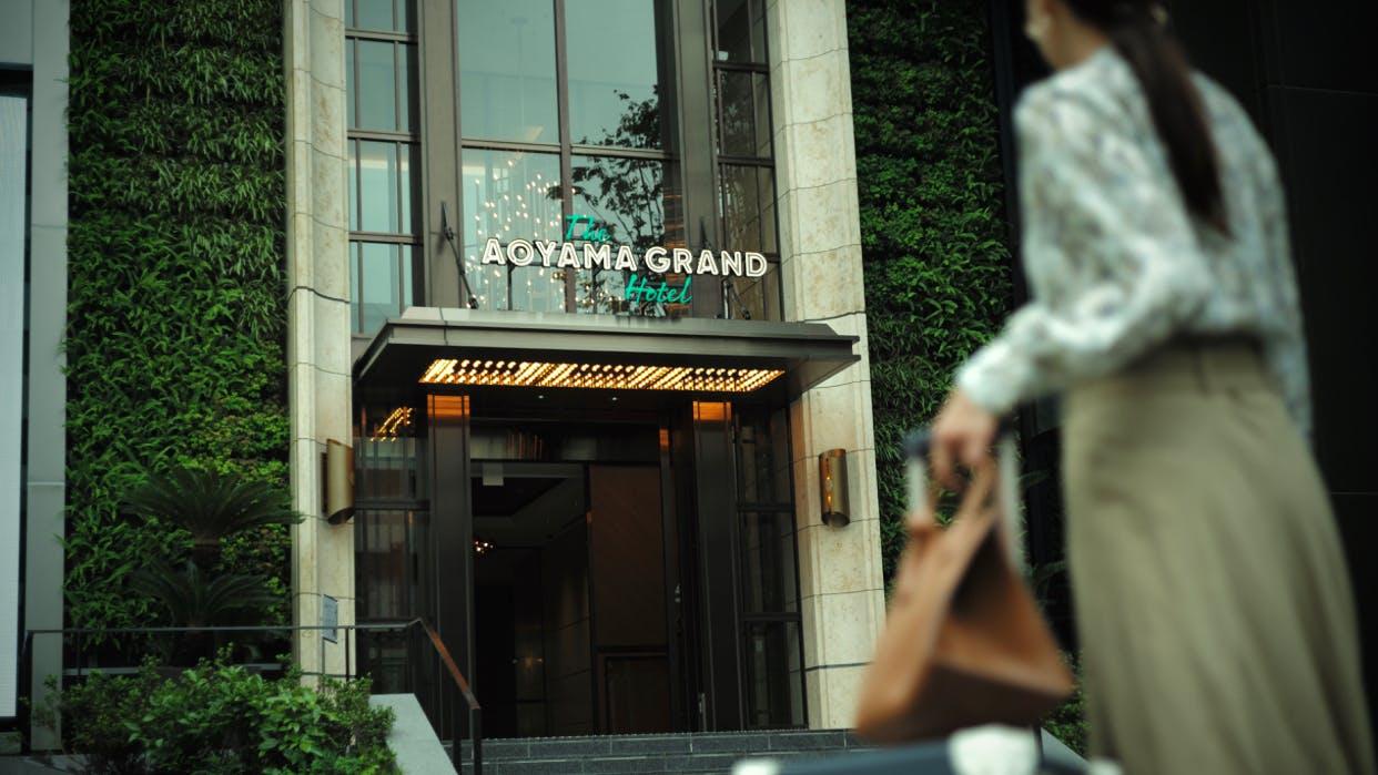 2020年8月、青山ベルコモンズ跡地に誕生した「THE AOYAMA GRAND HOTEL」で心豊かな滞在を