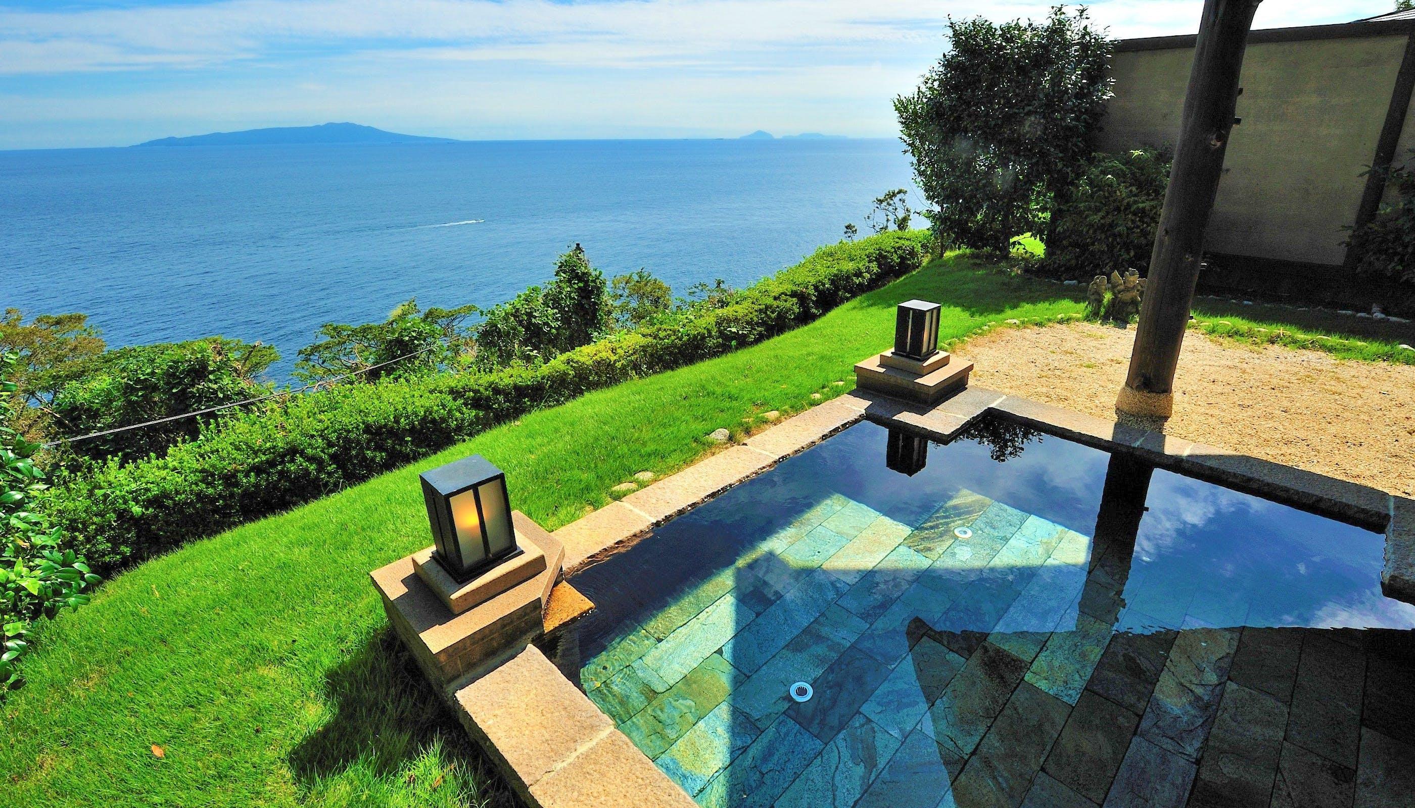 露天風呂付客室で海の絶景を独り占めできる温泉宿 熱海・伊豆編