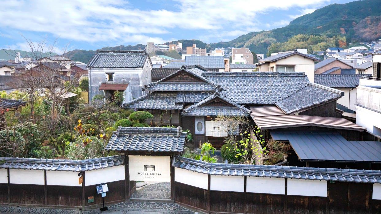 福岡・太宰府に残る歴史的邸宅を改修した分散型ホテル