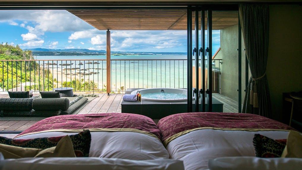 沖縄でオーシャンビューバスがあるラグジュアリーホテル6選
