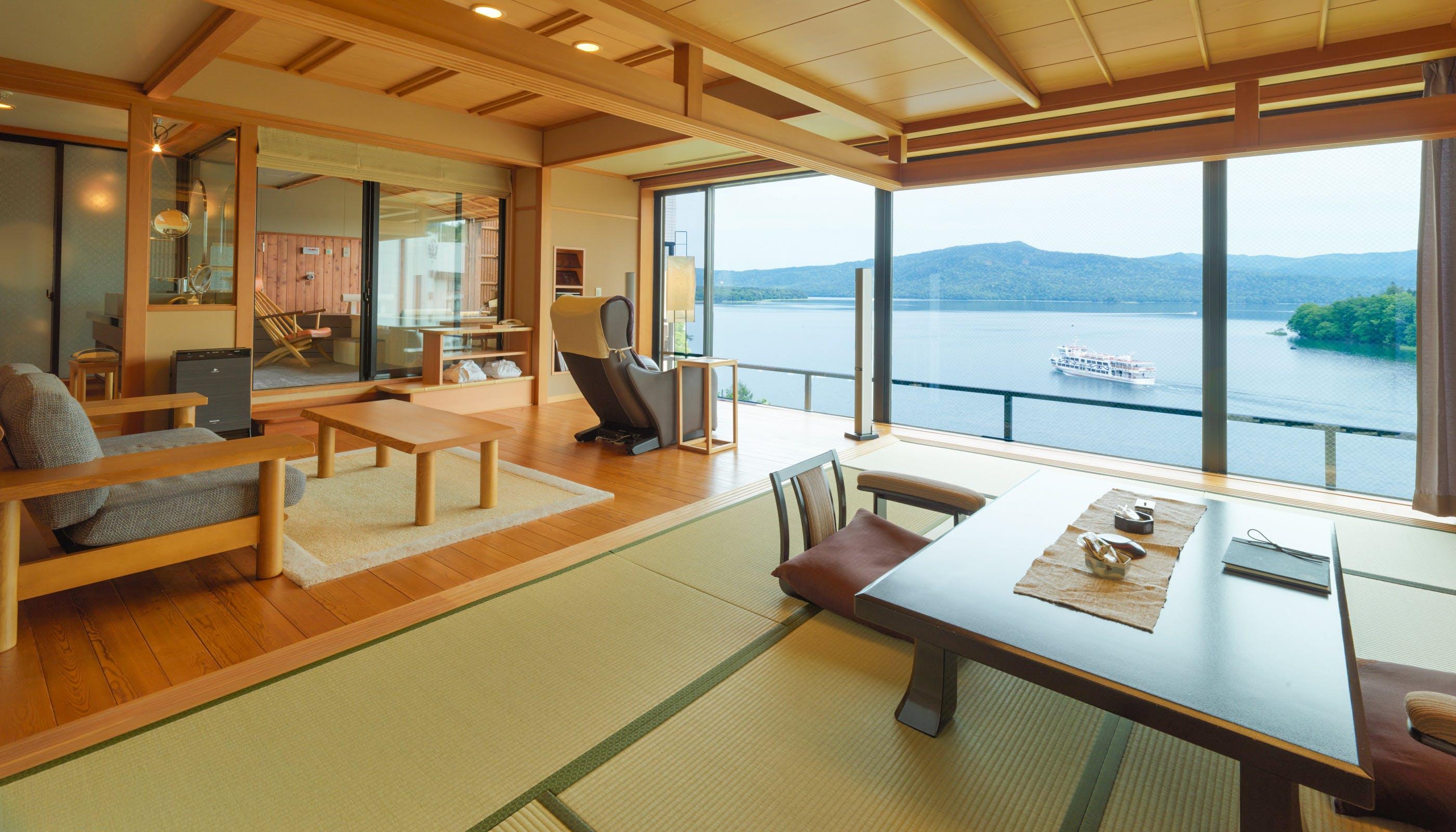 レイクビューの絶景を楽しめる北海道の温泉宿5選