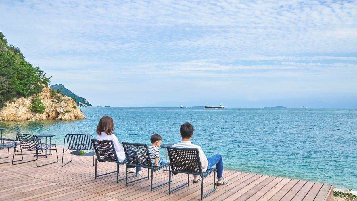 瀬戸内海の絶景を独り占め!多島美を満喫できる一棟貸しの宿