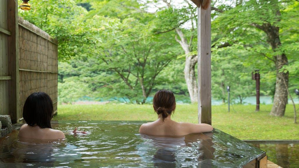 東北の野趣溢れる景色を楽しむ露天風呂がある宿