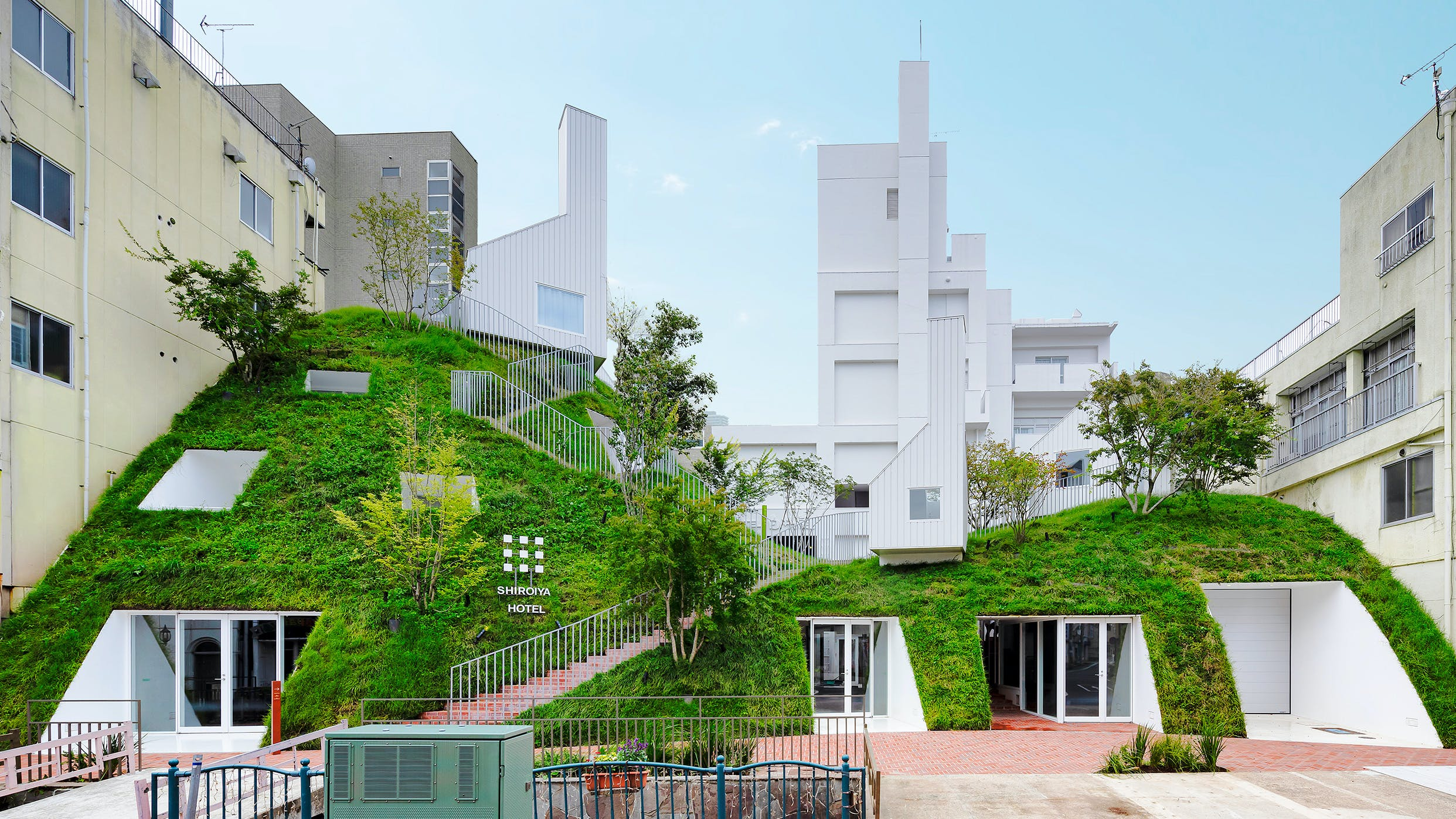 群馬の老舗旅館がアートに包まれた個性派ホテル「SHIROIYA HOTEL」にリニューアル