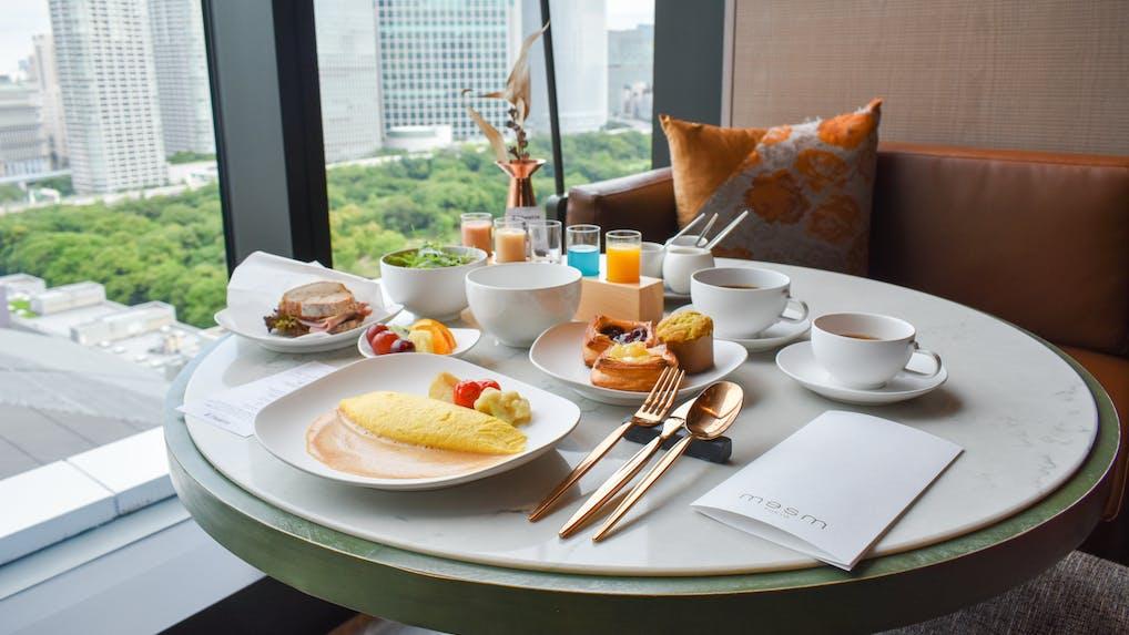 【滞在記】 五感で楽しむ「メズム東京」のコース仕立ての朝食
