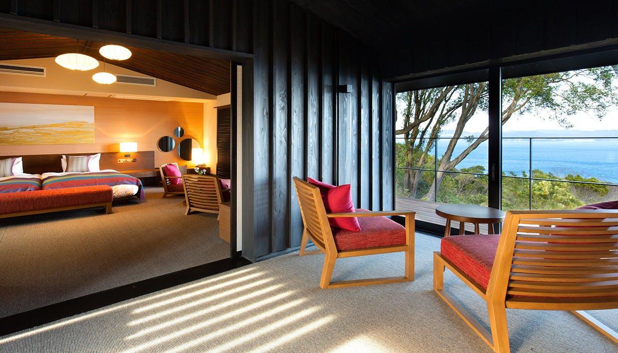 全10室、鳴門海峡を望む瀬戸内のプライベートリゾート