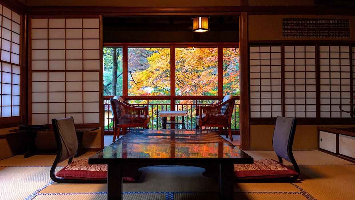 美しい紅葉をお部屋から楽しめる宿 東北編